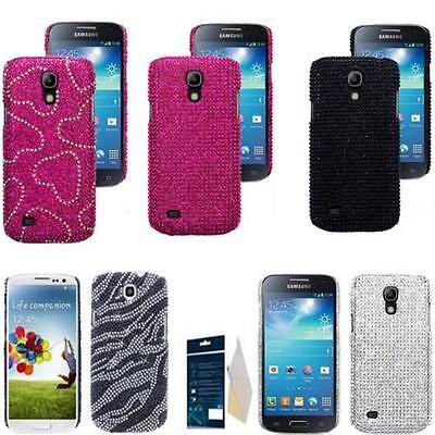 Bling Hard Deckel Case Samsung Galaxy Diamant Hülle Motiv Cover mit DisplayFolie Deckel-case