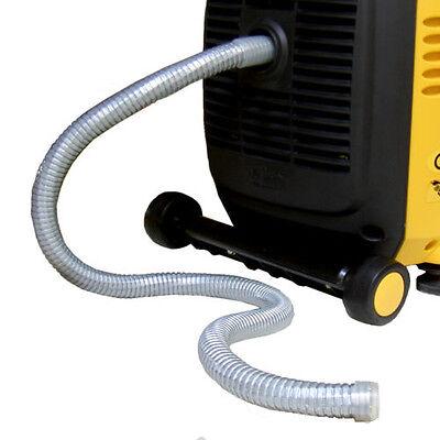 Abgasschlauch für Generatoren (geräuschreduzierend, individuell angefertigt)