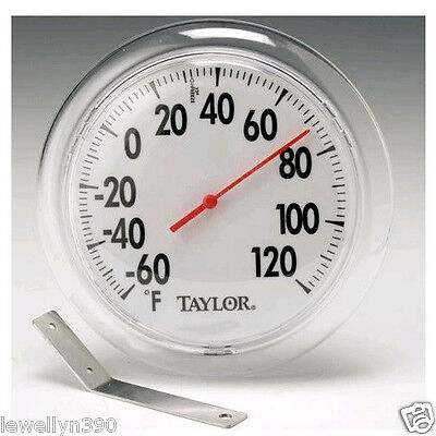 "Taylor 5630 Indoor/Outdoor Thermometer 6"" diameter"
