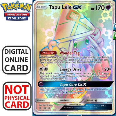Tapu Lele GX HR Full Art Rainbow - for Pokemon TCG Online Digital.