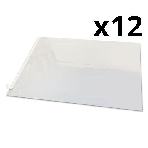 Second Sight Clear Plastic Desk Protector, 24 x 19, Pack of 12