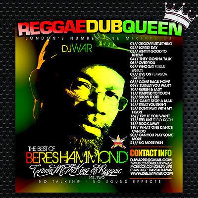 Crown Me The King Of Reggae 2 - Beres Hammond  Mixtape. Reggae Mix CD. UK