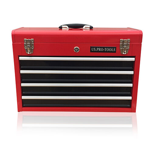 380 US Pro tools Portable Toolbox Tool Chest Box Cabinet ...