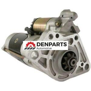 STARTER FOR MITSUBISHI FUSO TRUCK FE FG SERIES W/ 4D34-2AT ENGINES 3.9L