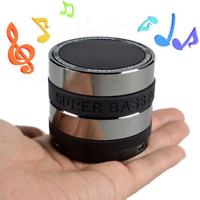 Wireless Bluetooth Speaker Mini Portable Super Bass For Smartphone Tablet MP3 PC on Rummage