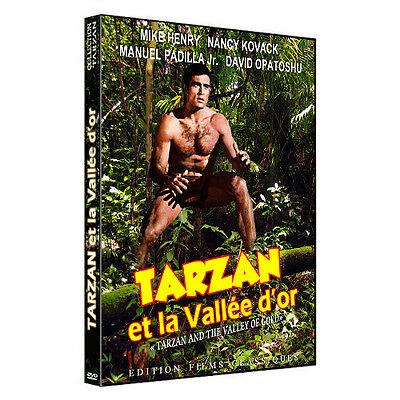 tarzan et la vallée d'or (mike henry) dvd