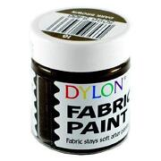 Brown Fabric Paint