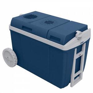 Mobicool W38, thermo-elektrische Kühlbox mit Rollen, 37 Liter, 12 V und 230 V...
