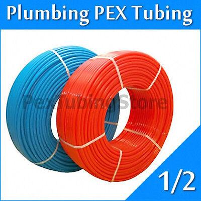 "2 rolls 1/2"" x 100ft PEX Tubing for Potable Water Combo"