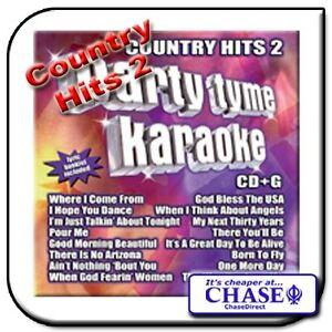 KARAOKE CD CDG CD+G DISC BACKING TRACKS SONG COUNTRY MUSIC 2
