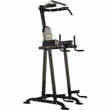 POWERTEC Basic Trainer (Pull up/Chinup/Dip/Knee Raise Station) Echuca Campaspe Area Preview