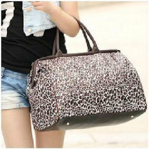 Leopard Print Travel Bag | eBay