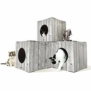 Cat Toy Boxes / cat home / modular cat furniture