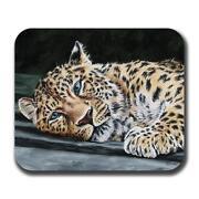 Leopard Print Mouse Pad