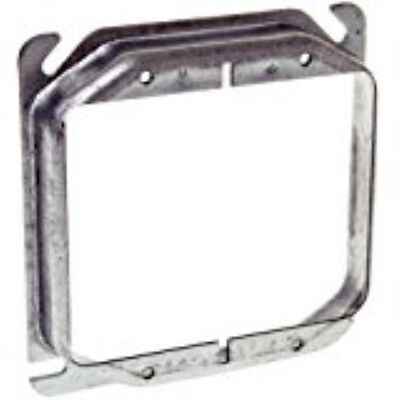 Hubbell Raco 8779 Raised 3/4-Inch, 4-Inch Square Mud-Ring for 2 - Raco Mud Ring