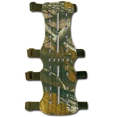 CAROL TARGET ARCHERY FABRIC ARM GUARD FAG214CAMO 15cm x 7cm