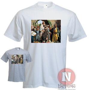 Jesus on a dinosaur t rex urban art graffiti direct to for Direct to garment t shirts