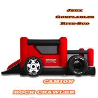 jeu gonflable Rock crawler (camion) - 105$/jour
