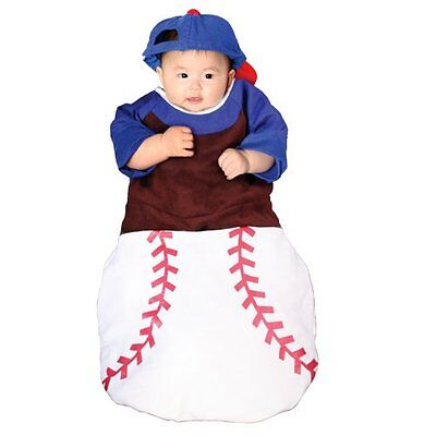 Home Run! Bunting Costume: Baby's Size Birth-6 Months Halloween Costume - Baby Birth Halloween Costume