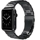 Apple Watch Band 42mm Replacement Strap Stainless For iWatch Series 1/2/3 Black