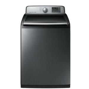 BRAND NEW WASHER SAMSUNG MOD. WA50M7450AP/A4 PLATINIUM WITH 1 YEAR WARRANTY!