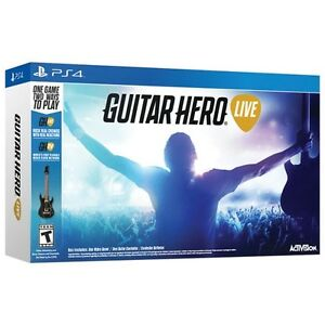 Activision Guitar Hero Live Bundle -PS4 - NEW in box