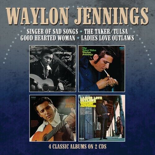 Waylon Jennings - Singer Of Sad Songs / The Taker-Tulsa / Good Hearted Woman / L