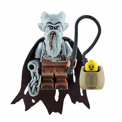 Custom Printed KRAMPUS Lego Minifigure -Genuine Lego- NEW