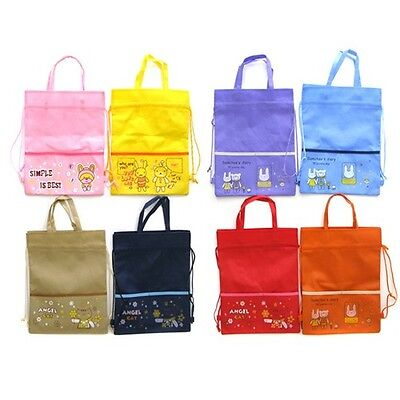New Reusable Eco Tote Bag Women Shoes Travel Pouch BackPack Market Shopping Sack