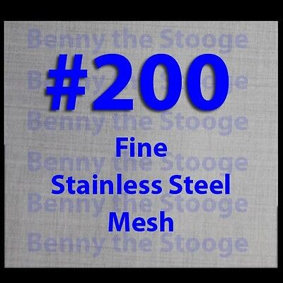 New stainless steel 316 #200 mesh filtration 60*60cm woven wire 24