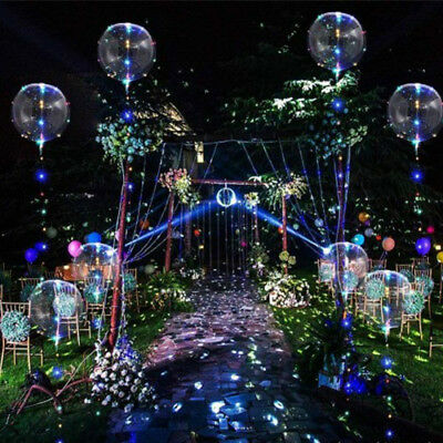 LED Light Up Balloons Gift Valentines Christmas Wedding Celebration Event Party - Led Light Balloon