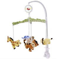 Cuddletime Musical Mobile - Sweet Safari Collection