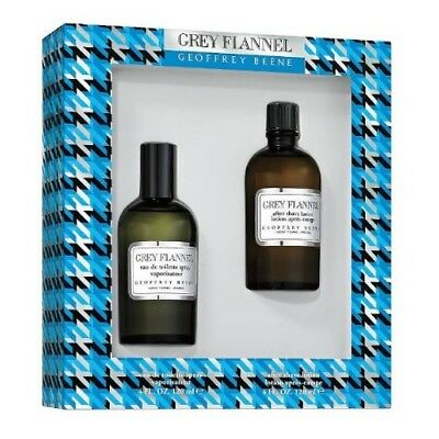 Grey Flannel Gift Set - Grey Flannel by Geoffrey Beene 2pc Gift Set 4 oz Cologne + After Shave for Men