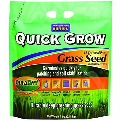 (Bonide 60264 Quick Grow Grass Seed, 7-Pound)