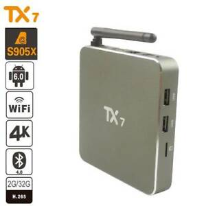 Selling TX7 Android Box 4k compatible