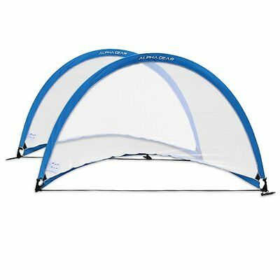 ALPHA Gear 6ft (183cm Wide) Pop Up Goals - PAIR