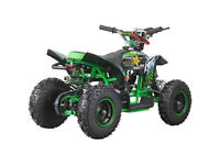 ROCKSTAR SUPER RAPTOR 49cc 2 Stroke Child's Petrol Engine Mini Quad