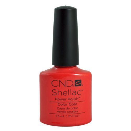 cnd shellac tropix nail care manicure pedicure ebay. Black Bedroom Furniture Sets. Home Design Ideas