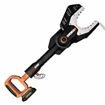 Electric Chain Saw 20V Cordless Power Tool Jaw Trimmer Wood Tree Branch Cutter