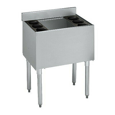 Krowne Metal 18-18 1800 Series 18 Underbar Ice Bin Cocktail Unit