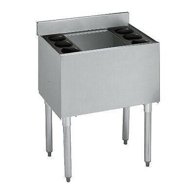 Krowne Metal 18-24 1800 Series 24 Underbar Ice Bin Cocktail Unit