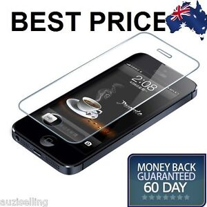 iPhone-5S-5-5C-Tempered-Glass-Screen-Protector-Film-Guard-Touch-Sensitive-Clear