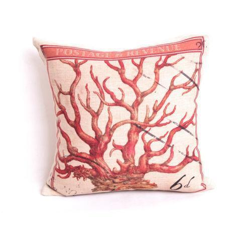Red Coral Decorative Pillow : Red Coral Pillow eBay