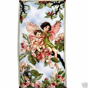 flower fairies fabric panel, quilt, sewing