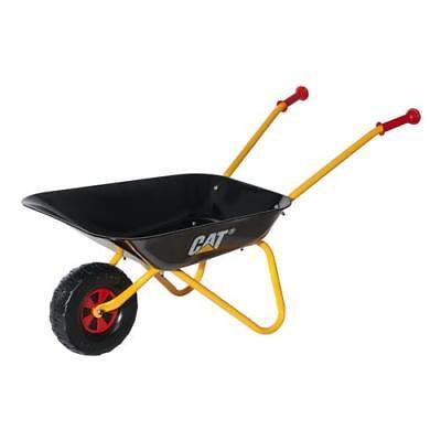 Rolly Toys 27 181 8 Carretilla de metal negra CAT para niños