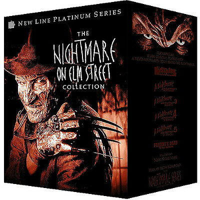 The Nightmare On Elm Street Collection  Dvd  8 Disc   3D Glasses Wes Craven