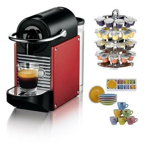 nespresso machine pixie ebay. Black Bedroom Furniture Sets. Home Design Ideas