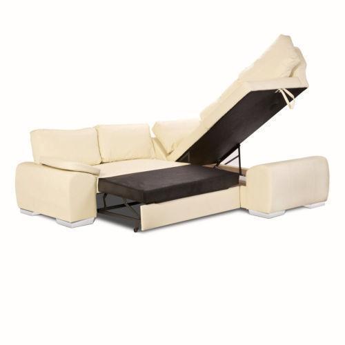 Corner Sofa Bed Ebay Uk: Cream Corner Sofa Bed