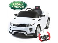 Kids range rover sport with parental remote control bought from land rover paid 300 last Christmas