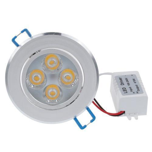 Led recessed light ebay led 6 recessed lights mozeypictures Choice Image